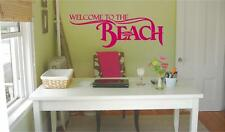 Welcome to the Beach | Entry Way Wall Decals | Vinyl Quotes Stickers