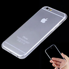 """Transparent Crystal Clear Soft TPU Case Skin Cover For iPhone 6 4.7"""" Plus 5.5"""""""