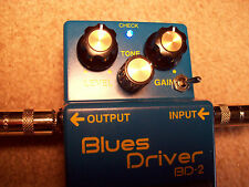 Modified Boss BD-2  from Modest Mike's Mods- Great for guitar and bass also!