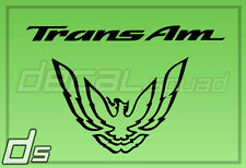 "Trans AM Firebird 7"" Firehawk Decal Tail Light Replacement Vinyl Pontiac WS6"