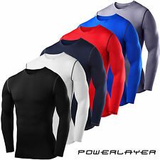 Mens and Boys PowerLayer™ Compression Armour Thermal Base Layer Training Tops