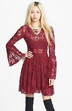 NWT Free People - Lace Lovers Folk Song Dress
