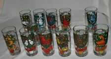 "12 Days of Christmas Glasses Tumblers Replacements  5 1/2"" 12 oz ~ You Choose"