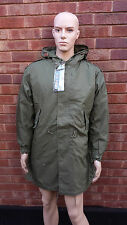 US Vintage M51 Quilted Shell Lined Parka Olive Green Sizes XS-S-M-L