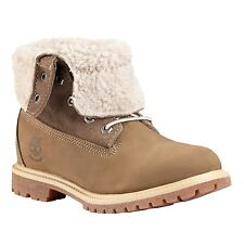 Timberland Authentics 8330R Fold Down Womens size Boots Taupe Waterproof Boots