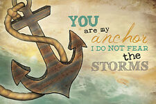 "Art Print / Framed / Plaque - Marla Rae - ""You Are My Anchor"" - MA1006"