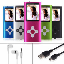 8GB LCD MP3 MP4 Player, FM Radio, Music Media Video Player, Games, Movie New