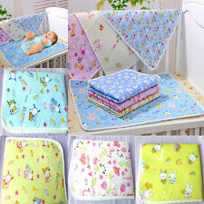 Cute Reusable Baby Infant Waterproof Urine Mat Cover Burp Changing Pad Random