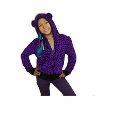Cutie Patootie Girls Purple Leopard Print Jacket w/ ear Size 2T, 3T, 4T, 4/5, 6X