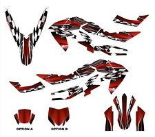 aprilia SXV 450 RXV 550 graphics decal kit 2006 - 2013 #2500 Red