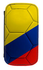 Columbian Flag Football Ball PU Leather Phone Cover Case Colombia Soccer Fútbol