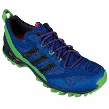 Adidas Kanadia 5 TR M Trail Course Running Shoes neon Blue Green Orange