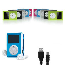 MP3 Music Player mini Player Sports Music Metal Clip Digital Accessory Pack New