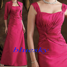 Long Formal Evening Womens Party Dress Mother of the Bride Dress Size 0-8-12-14+