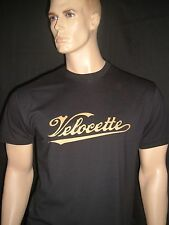 VELOCETTE MOTORCYCLE T-SHIRT (NEW 100% COTTON) MOTORBIKE / BIKE