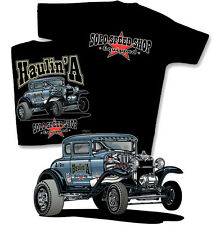 SOLO Speed Shop Haulin' A T-Shirt - Vintage Drag Model A Gasser  1930 1931