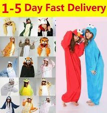 Animal Onesies Adult Kids Kigurumi Cosplay Costume Pyjamas Pajamas Sleepwear AU
