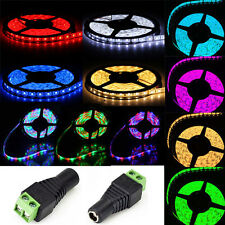 NEW 5M 3528/5050 RGB Waterproof  SMD Flexible LED Light Strip 300/600LED 12V