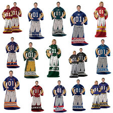 NFL Team Comfy Snuggie Blanket With Sleeves Pick Your Favorite Free Shipping