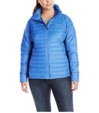 COLUMBIA Powder Pillow Hybrid Winter Jacket Womens sz 1X-2X-3X Warm Quilted Coat