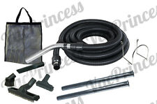 30' Central Vacuum Air Hose Kit w/Tools & Wands - Beam Nutone Electrolux Broan