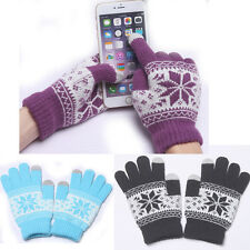 Mens Women Ultra Thick Smart Touch Screen Gloves Warm High Qulity iPhone Galaxy