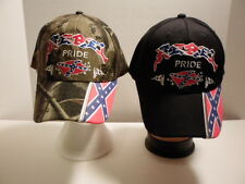 NEW~Confederate~ Rebel Pride w/ Flags Hats~2 Styles~