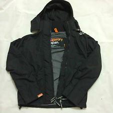 Superdry Windcheater Arctic Mens Hooded Jacket Black / Grey RRP £75