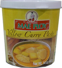NEW Mae Ploy Thai Yellow, Green, Red, Panang Curry Paste - 14 oz jar / 400g