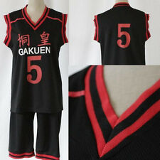 Adult Basketball Which Kuroko Plays Cosplay Costume Aomine Daiki Uniform No.5