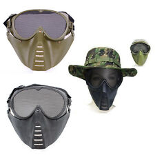 Army Funs War CS Games Military Airsoft Tactical Face Shield Protection Fly Mask