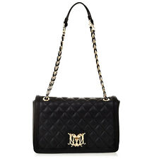 Shoulder bag quilted LOVE MOSCHINO Black Clutch  Handbag Purse F/W 2014