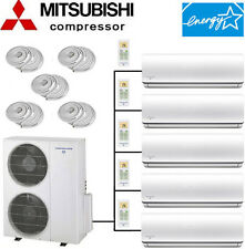 21 SEER: ENERGY STAR Quint Zone Ductless Mini Split Air Conditioner Heat Pump