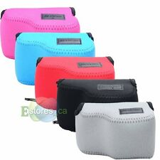 5 Color Neoprene Soft Camera Case Bag Pouch For 16-50mm Sony NEX 5T/5R/3N/A5000