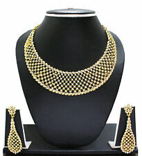 INDIAN CLASSIC JEWELRY NECKLACE SET BY ZAVERI PEARLS