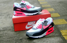 New Air max 90 nike running women shoes white grey pink  sales