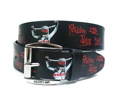 Hustler Men's Relax Belt Black  Hip Hop Urban Streetwear Taboo