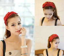 Hot sale !Lovely gril headband Bowknot Headscarf  Women Hair Accessories