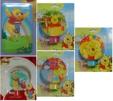 Disney Winnie the Pooh Switchplate Cover and Night Light Plug-in YOUR CHOICE