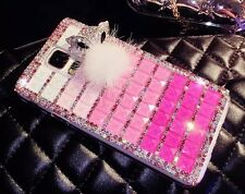 FOR SAMSUNG GALAXY LUXURY 3D CRYSTAL DIAMOND CASE BLING DIAMANTE HARD COVER