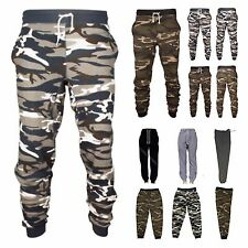 Men's Heavy Weight Fleece Terry Sweat Pants Sports Track Camo Jogger S-3XL NEW