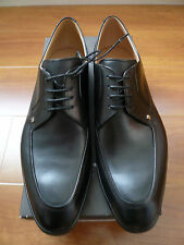 NIB BALLY CASTIONS/00 BLACK CALF PLAIN LEATHER SHOES SZ 11.5