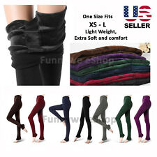 Extra Soft Thick Warm Fleece lined Fur Winter Tight Pencil Leggings Sexy Pants