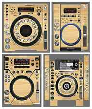 Pioneer CDJ Skin WOOD Protective Decal ALL MODELS 350 800 900 1000 2000 NEXUS