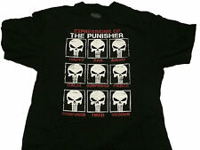 Marvel Expressions of Punisher Frank Castle Comic T Shirt BIG & TALL SIZES