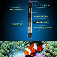 Heater Submersible Water Glass Heater Heating Rod for Aquarium Fish Tank