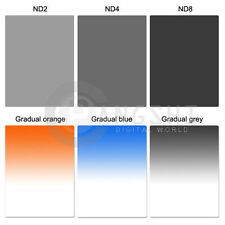 Square Filter 100x143mm Graduated Gradual Filter for Cokin Z series