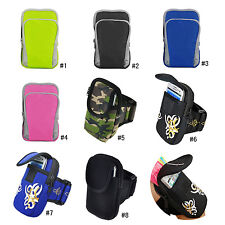 Running Sports Armband Case Cover For iPhone 6 Plus Samsung Galaxy Note 2 3 4 S5