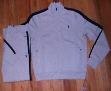 NWT Polo Ralph Lauren Mens Classic Fleece Track & Sweat Suits L