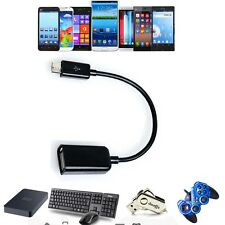 USB OTG Host Adapter Cable Cord For Google Nexus 7 2013 Asus-1A008a Tablet PC